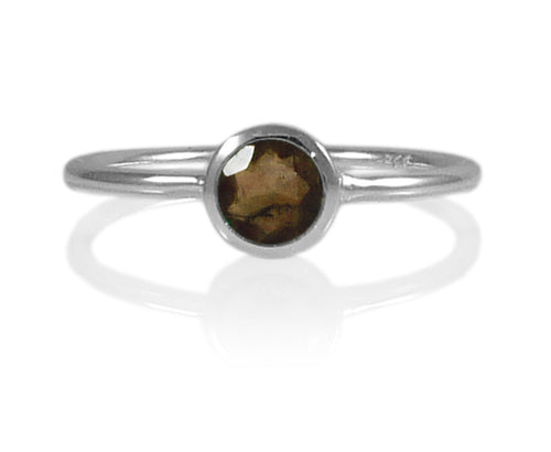 Bilbao Stacking Ring Smokey Quartz