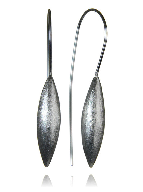 Amazon Brushed Seed Drop Earrings