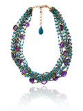 18K Vermeil Amethyst Colet Necklace