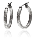 Capri Shimmer Hoops - Small