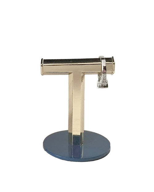 Ring Holder Geo T Stand Brass