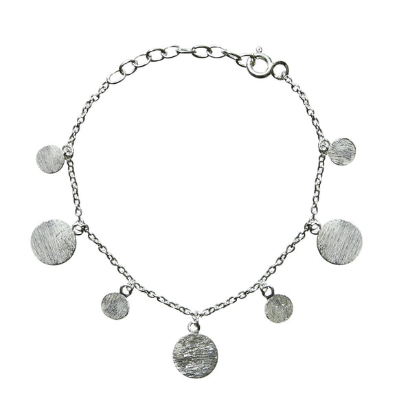 Dangle Disc Bracelet