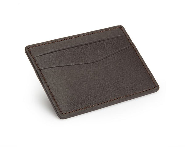 Blake Credit Card Case Brown