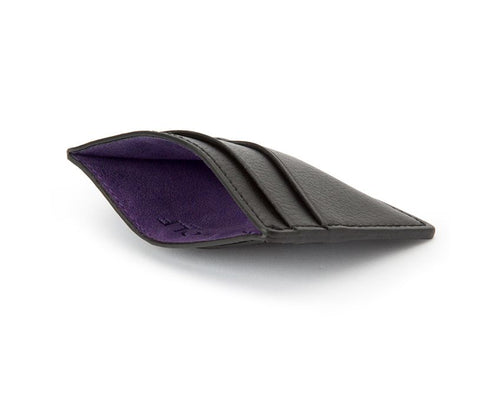 Blake Credit Card Case Black Purple