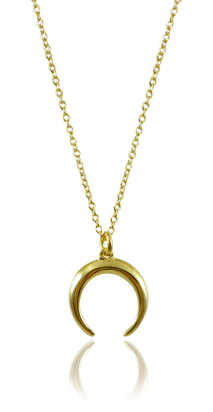 Gold Plated Holy Cow Necklace