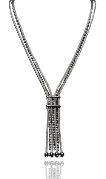 Ball Chain Milano Lariat
