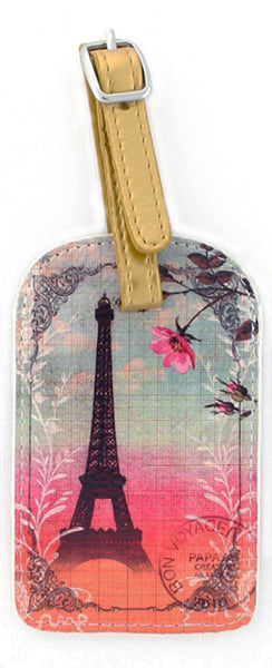 Luggage Tag Eiffel Tower