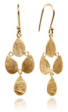 Gold Plated Egyptian Raqs Sharqui Earrings