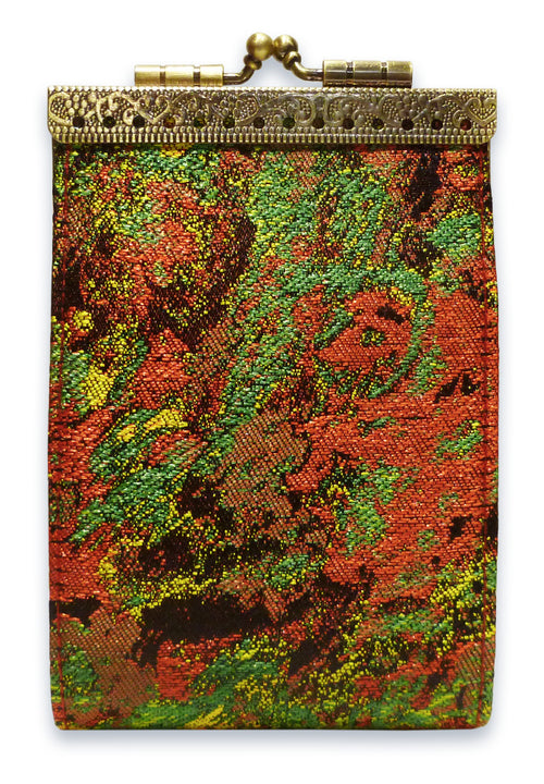 Card Holder Red and Green RFID