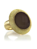 Glitterati Ring Smokey Quartz