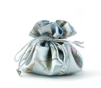 Jewelry Pouch Light Blue