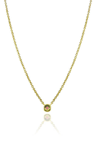 Petite Capri Tredici Necklace Citrine