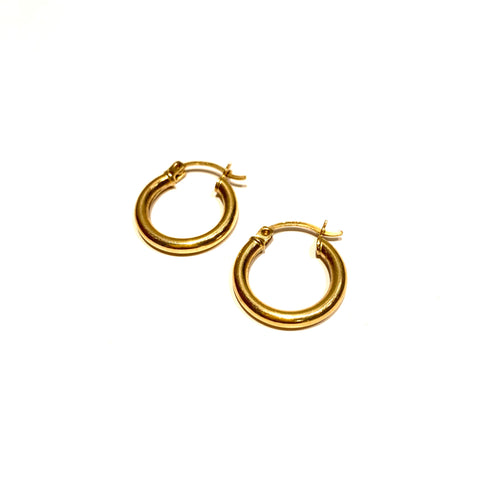 10k Gold Classic Mini Hoops