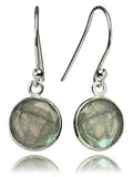 Hanging Puntino Earrings Labradorite