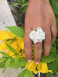 Large Gaudi Flower Cocktail Ring