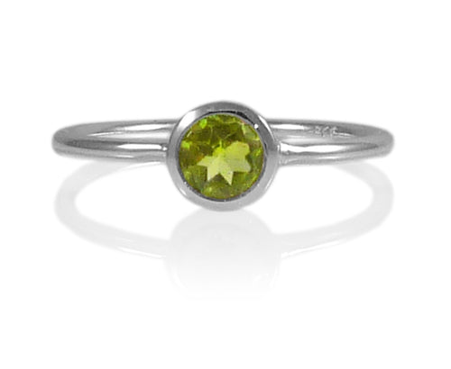Bilbao Stacking Ring Peridot