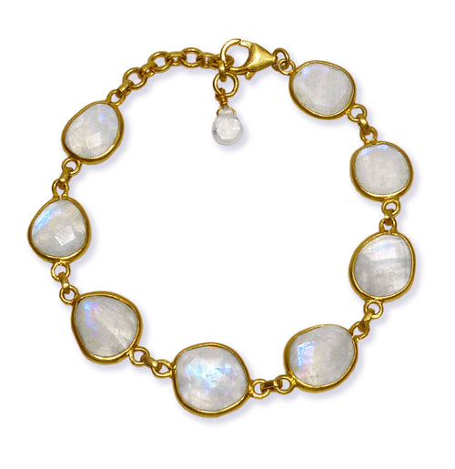 Amazon River Rock Bracelet White Moonstone