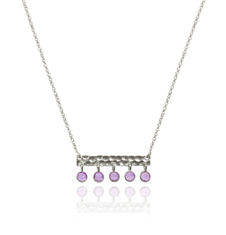Otto Necklace Amethyst