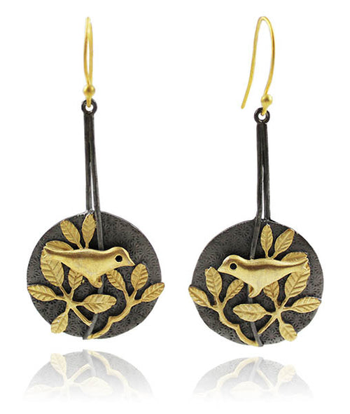 Haifa Garden Bird Earrings