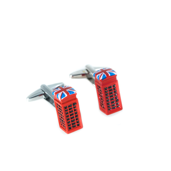 UK Phone Box Cufflinks