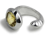 Oval Maidan Ring Citrine