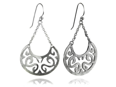 Three Leaf Amazon Earrings