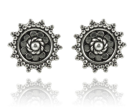 Bali Hamsa Earrings