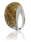 Ponte Firenze Ring Golden Rutile Quartz