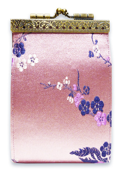 Cathayana Card Holder Cherry Blossom - Mauve