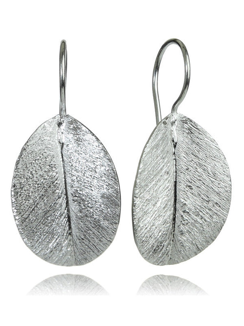 Brazil Nut Leaf Earrings