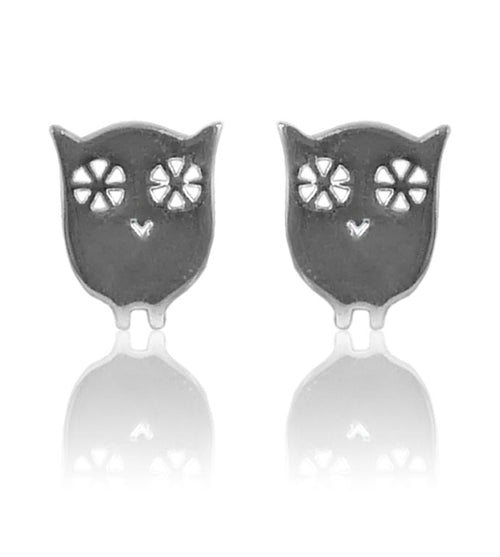 South African Owl Studs