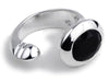 Oval Maidan Ring Black Onyx