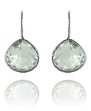 Peacock Drops Green Amethyst