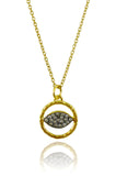 Israeli Evil Eye Necklace