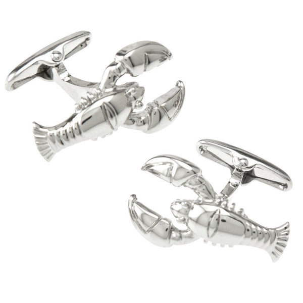 Silver Lobster Cufflinks