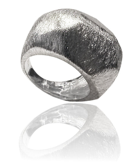 Gaudi Four Square Hugger Ring