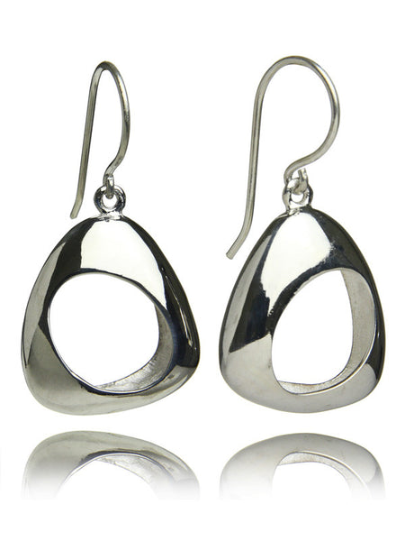Bilbao Open Oval Earrings