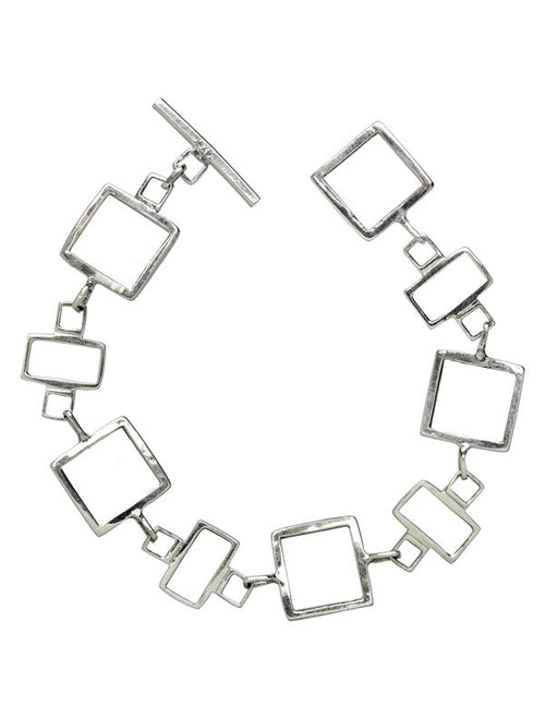 Art Deco Square and Rectangle Bracelet