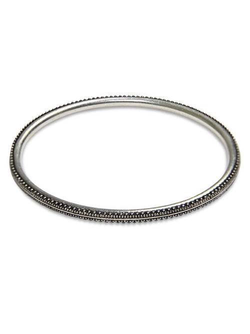 Thin Stackable Balinese Bangle