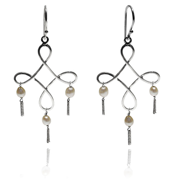 Hong Kong Lantern Earrings