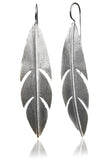 Bold Amazon Leaf Earrings