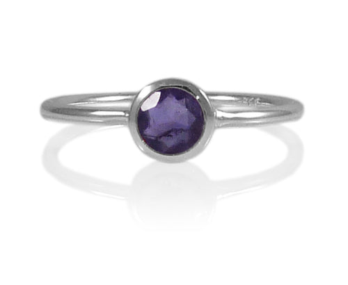 Bilbao Stacking Ring Iolite