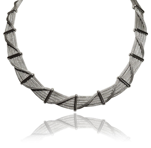 Criss Cross Infinity Milano Collar