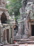 Cambodia: Recess in the Ruins - Bayon Ruins at Angkor Wat