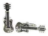 Guitar Cufflinks (Stainless Steel Rhodium)