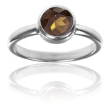Stackable Jaipuri Circle Ring Beer Quartz 7.5