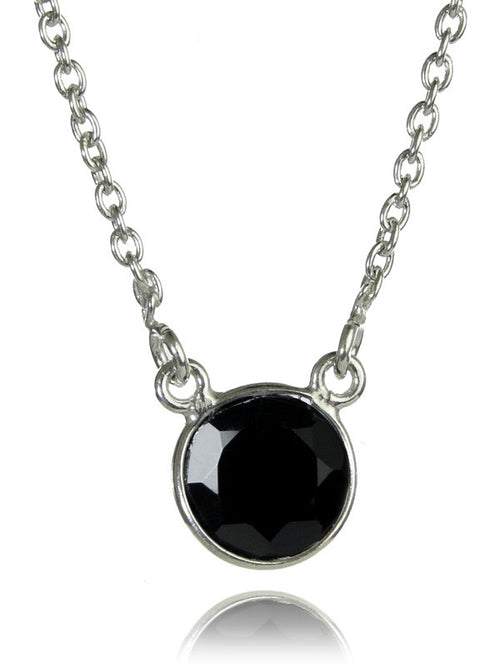 Puntino Necklace Black Onyx