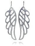 Brushed Amazon Butterfly Earrings