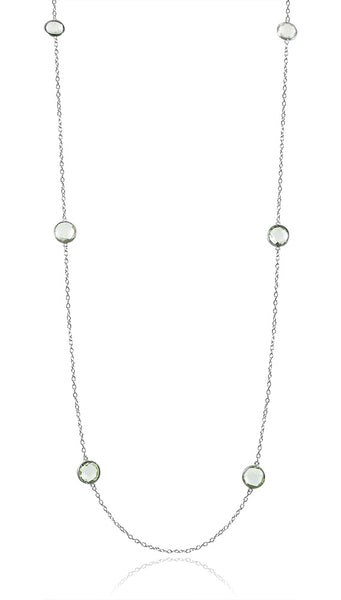 Otto Necklace Green Amethyst