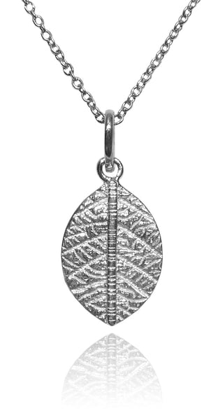 Leaf Pendant and Chain